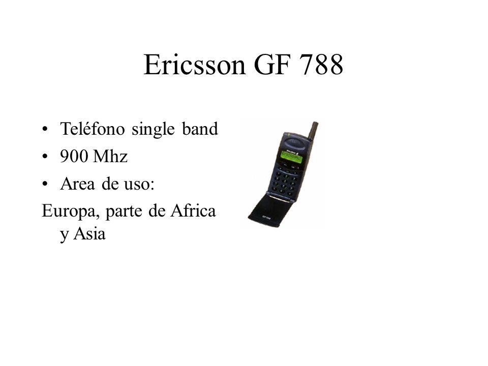 Ericsson GF 788 Teléfono single band 900 Mhz Area de uso: Europa, parte de Africa y Asia