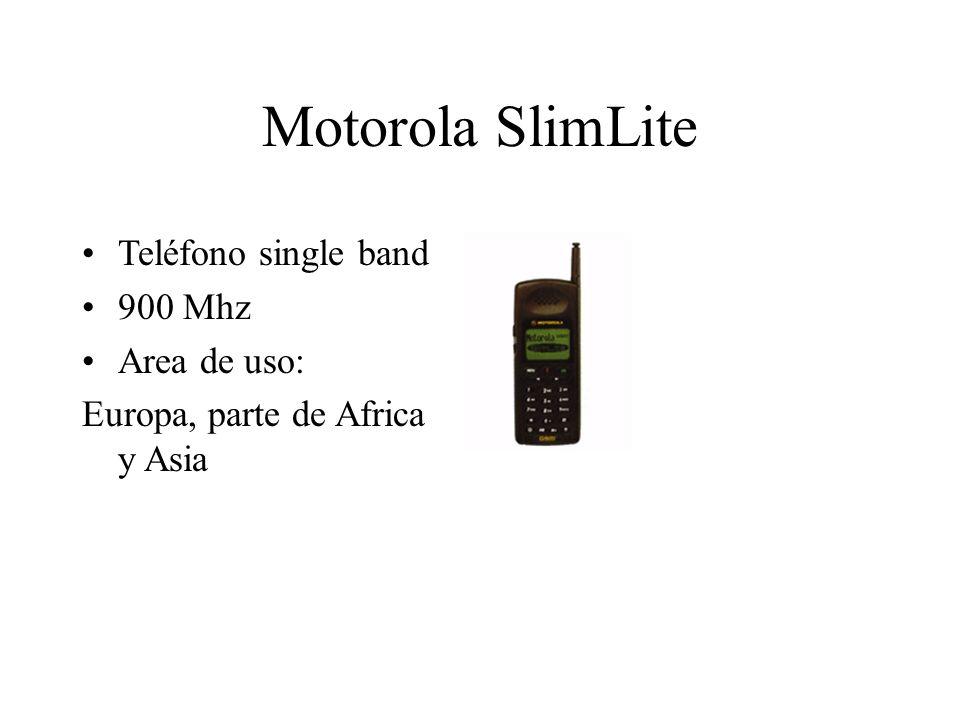 Motorola SlimLite Teléfono single band 900 Mhz Area de uso: Europa, parte de Africa y Asia