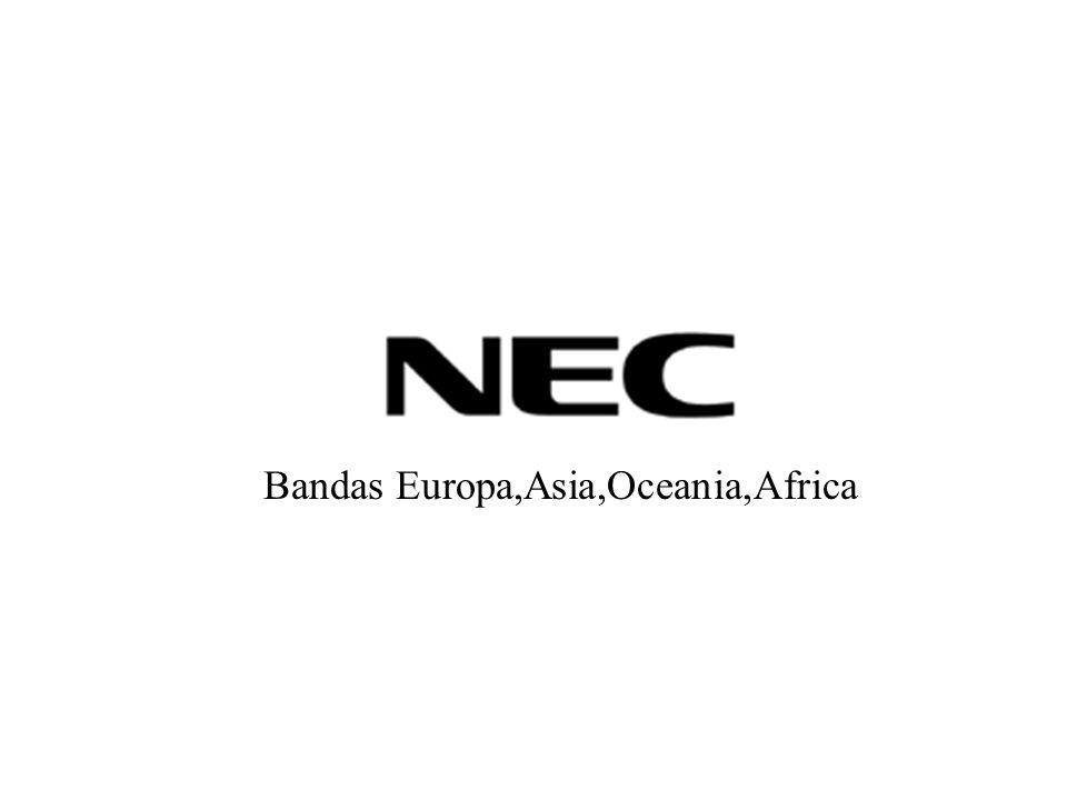 Bandas Europa,Asia,Oceania,Africa
