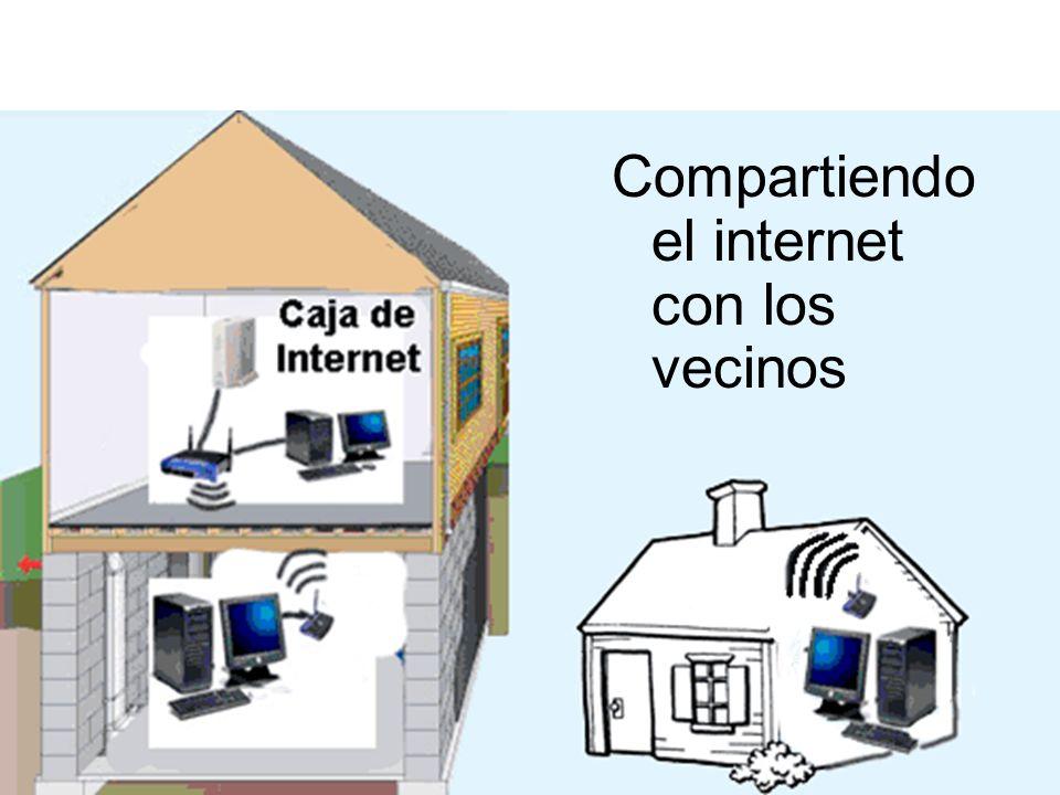 Compartiendo el internet con los vecinos