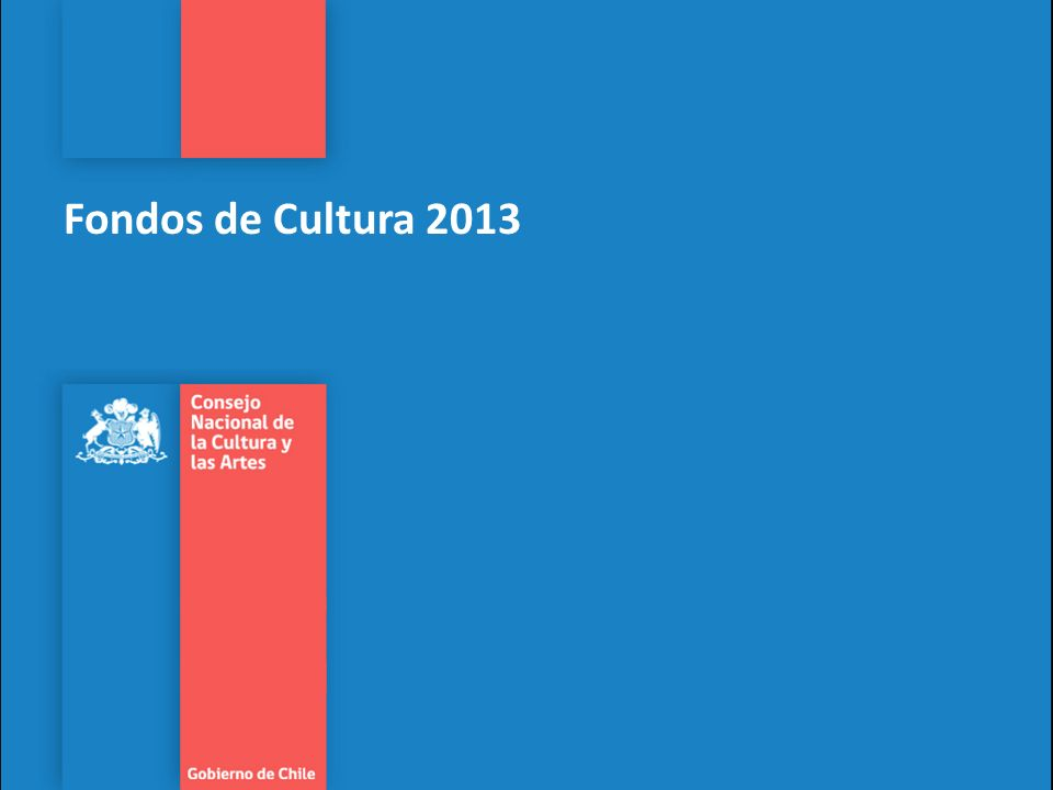 Fondos de Cultura 2013