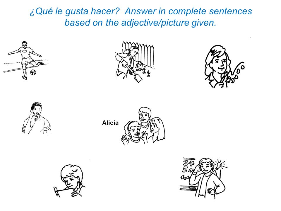 Unscramble these sentences using the correct Order of Words.
