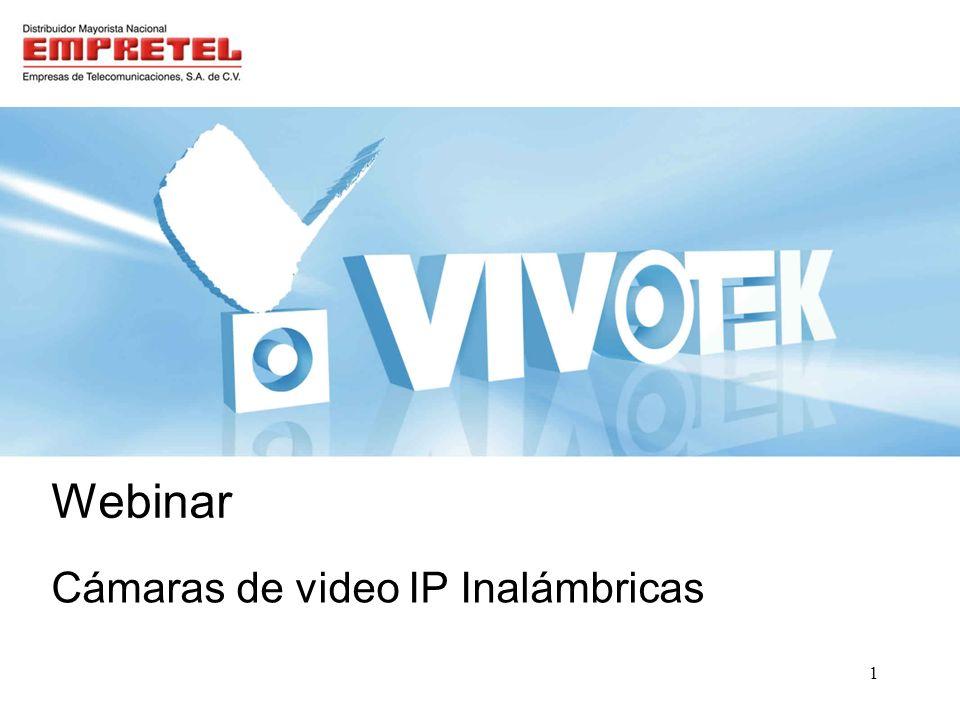 Outline Cámaras de video IP Inalámbricas Línea de productos VIVOTEK –Solución video vigilancia IP –¿Qué es una cámara IP.
