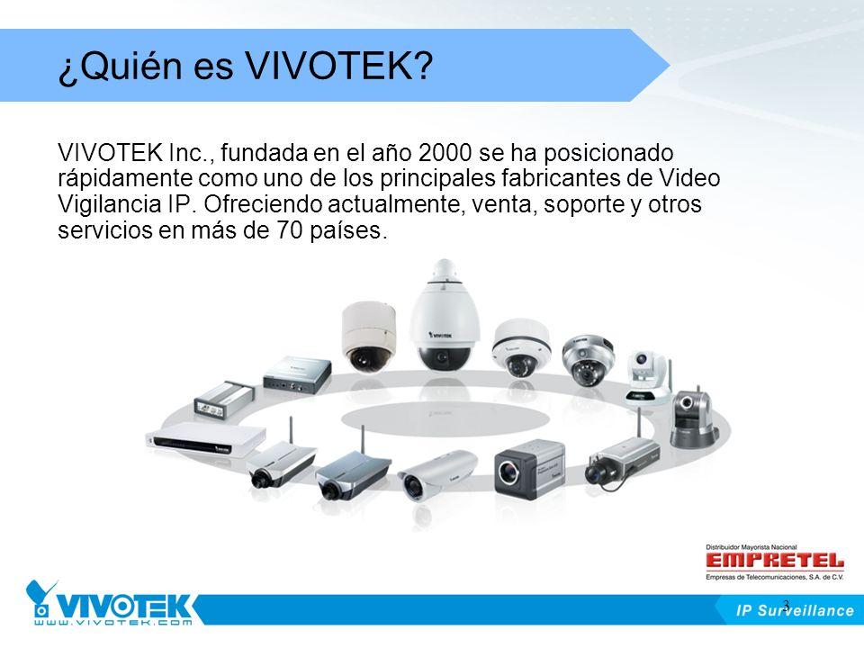 VIVOTEK Inc., fundada en el año 2000 se ha posicionado rápidamente como uno de los principales fabricantes de Video Vigilancia IP. Ofreciendo actualme