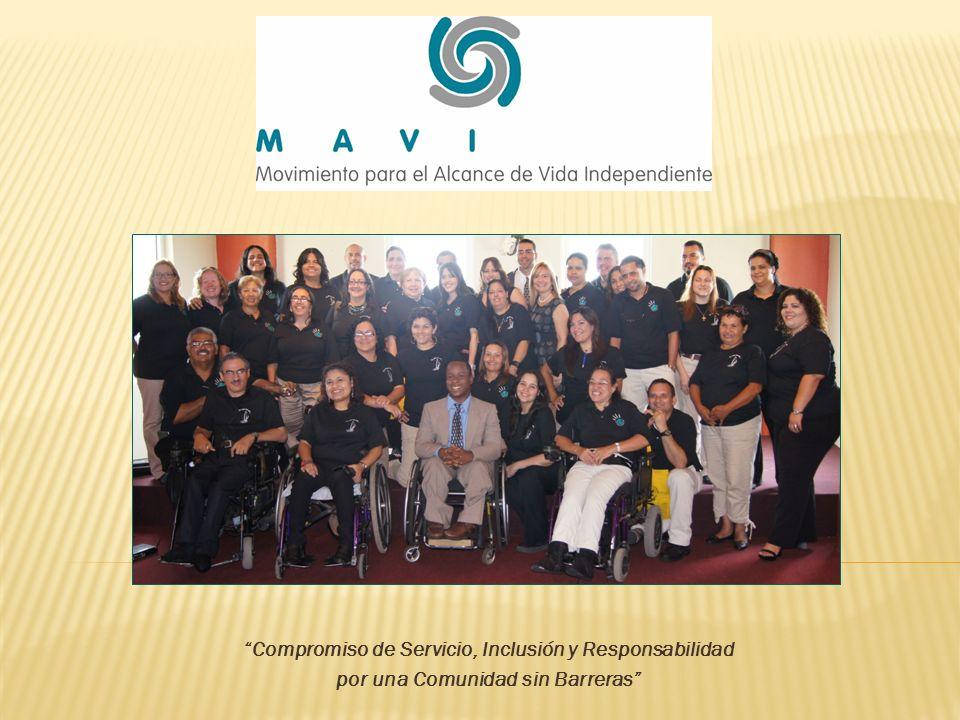 Programa de Vida Independiente Team MAVI: movimiento corporal adaptado.
