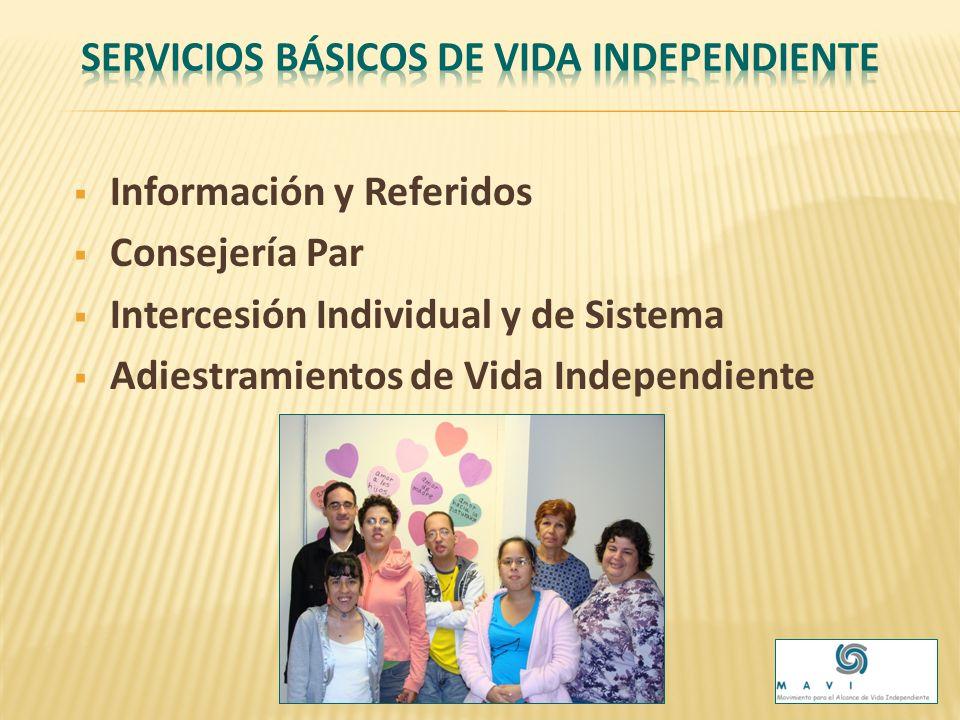 Programa de Vida Independiente Aseo e higiene personal Mantenimiento del hogar Confección de alimentos