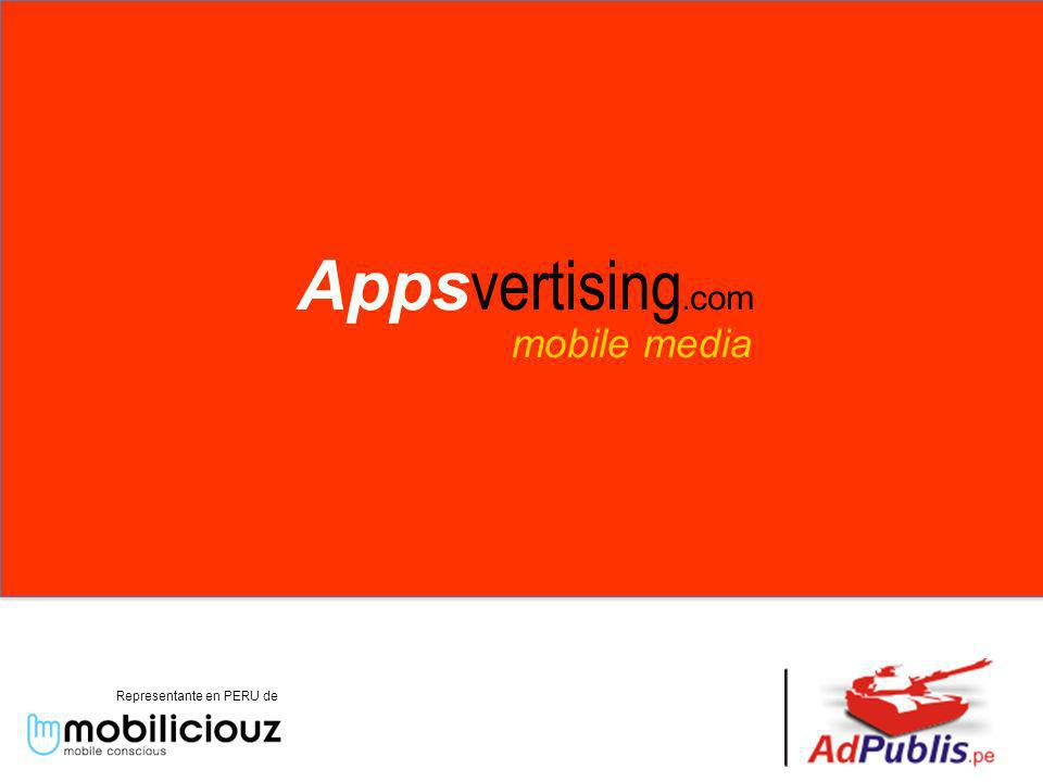 mobile media Representante en PERU de Apps vertising. com