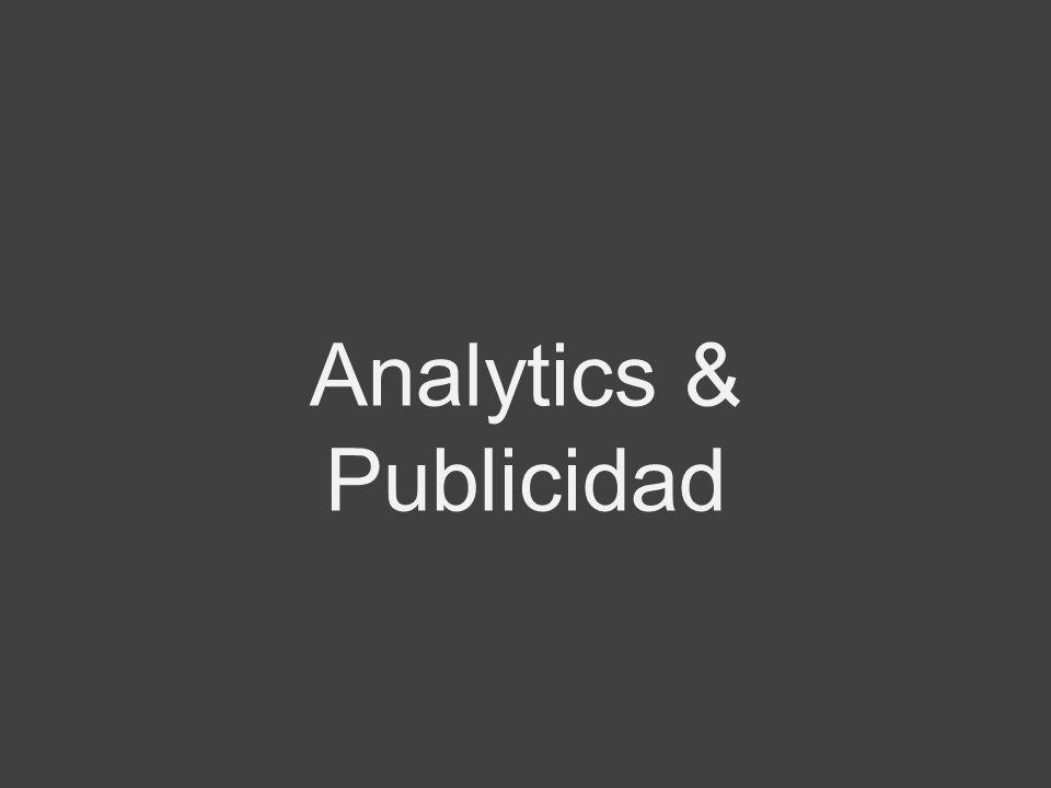 Analytics & Publicidad