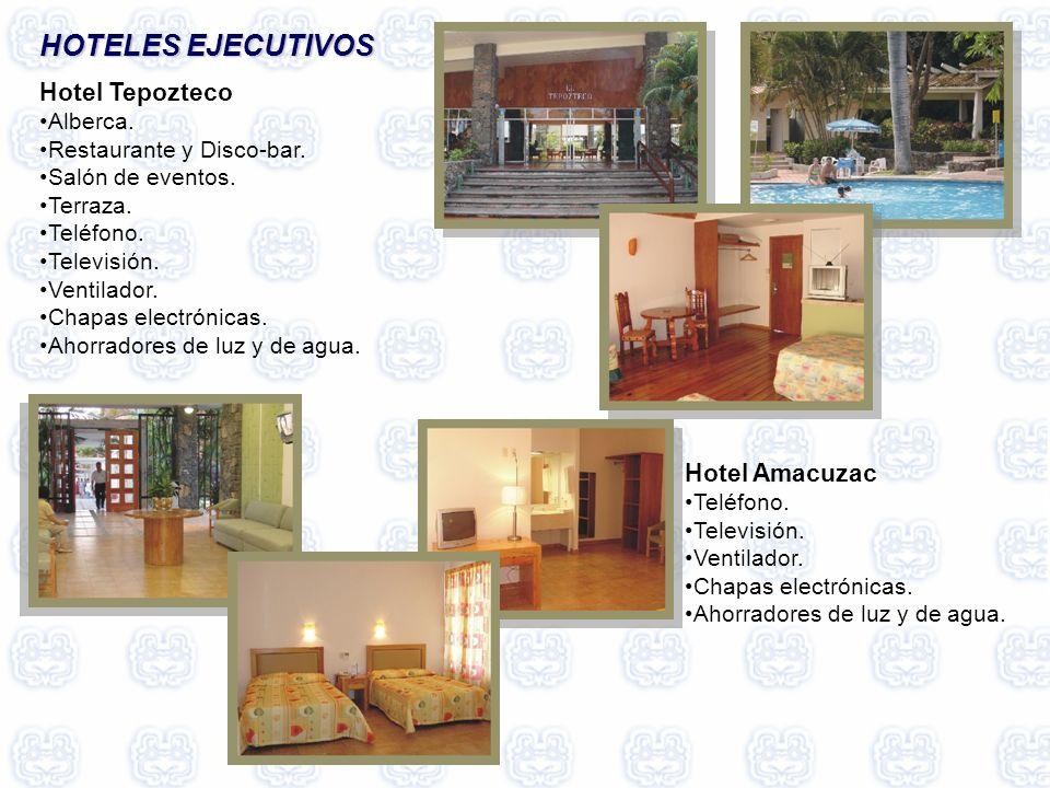 HOTELES EJECUTIVOS HOTELES EJECUTIVOS Hotel Tepozteco Alberca.