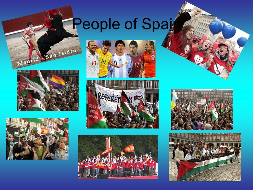 People of Spain