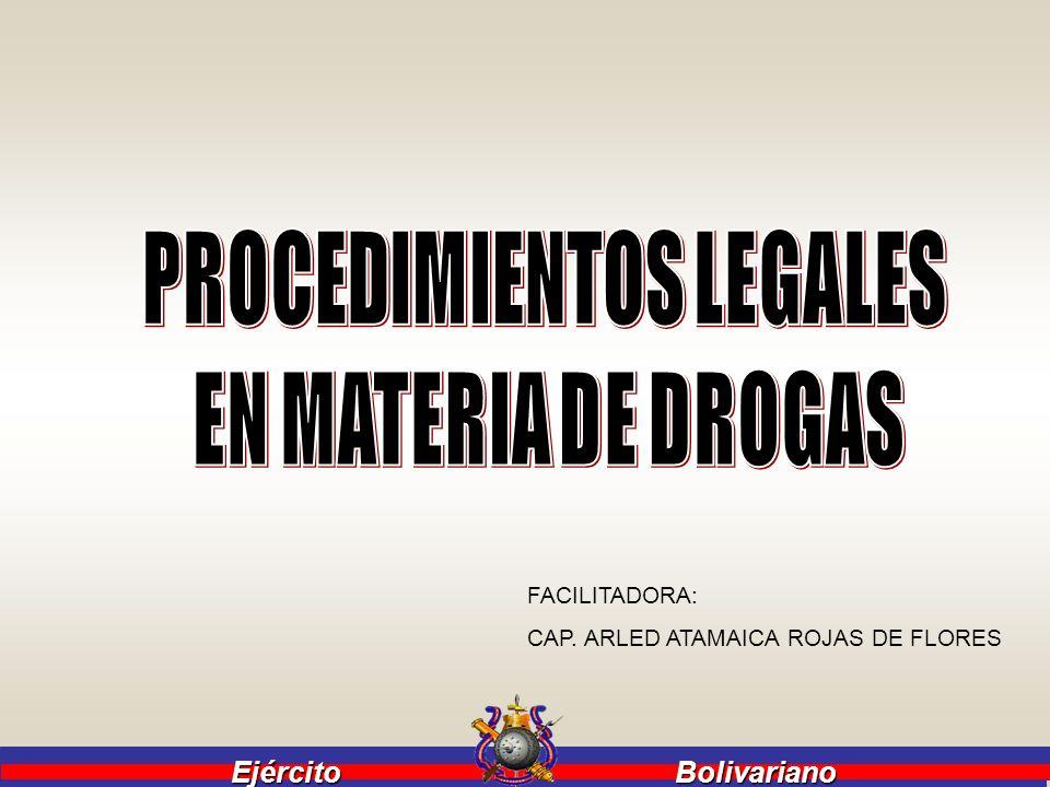 Ejército Bolivariano Ejército Bolivariano BASE LEGAL: 1.
