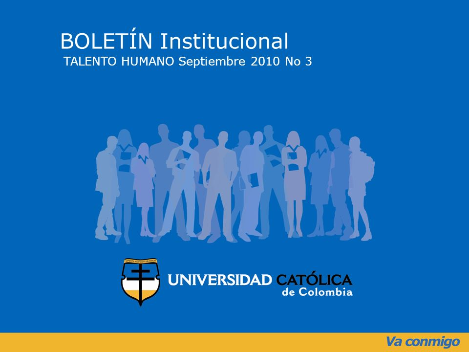BOLETÍN Institucional TALENTO HUMANO Septiembre 2010 No 3