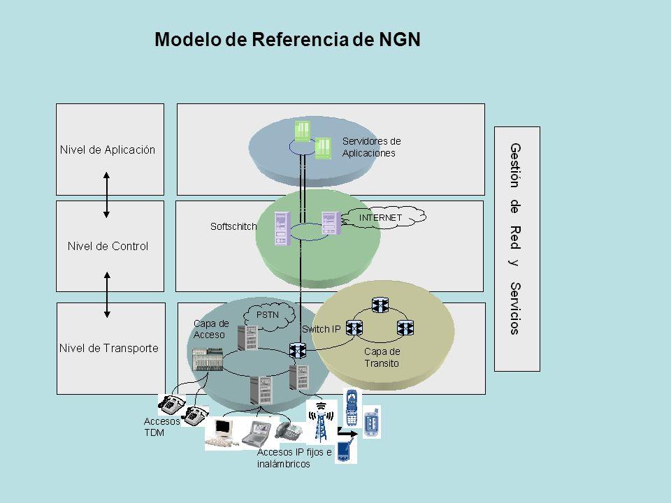 Modelo de Referencia de NGN