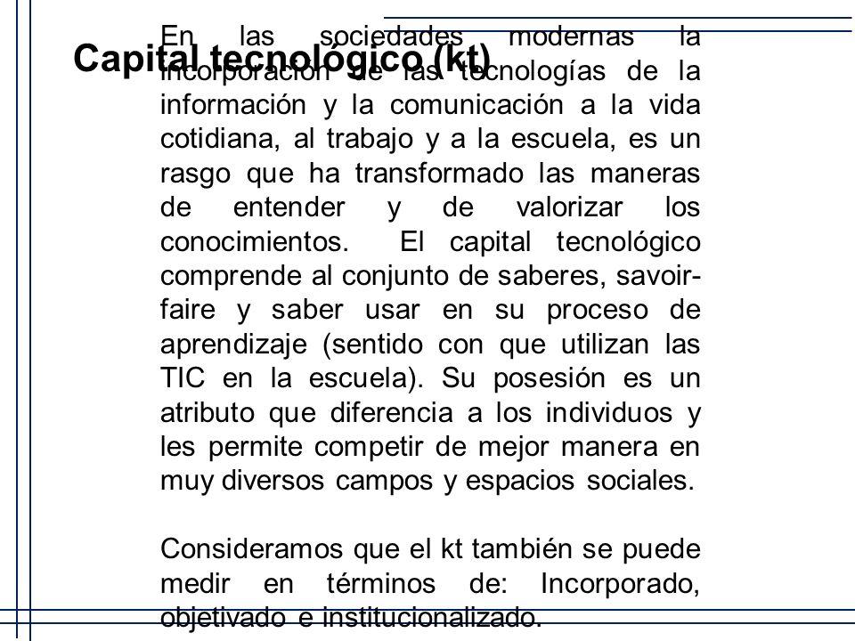 En las sociedades modernas la incorporación de las tecnologías de la información y la comunicación a la vida cotidiana, al trabajo y a la escuela, es