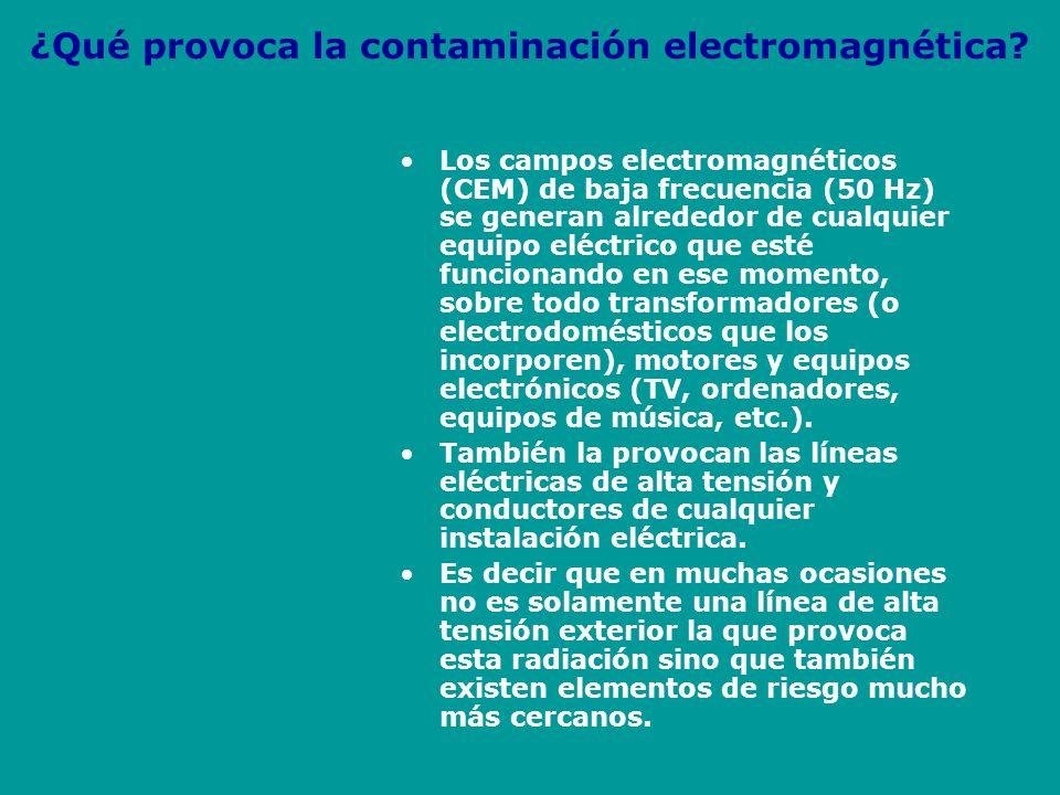 ¿Porqué nos afectan los campos electromagnéticos El organismo humano, igual que el de los otros seres vivos, posee una estructura que funciona gracias a la acción de corrientes eléctricas y magnéticas muy débiles.