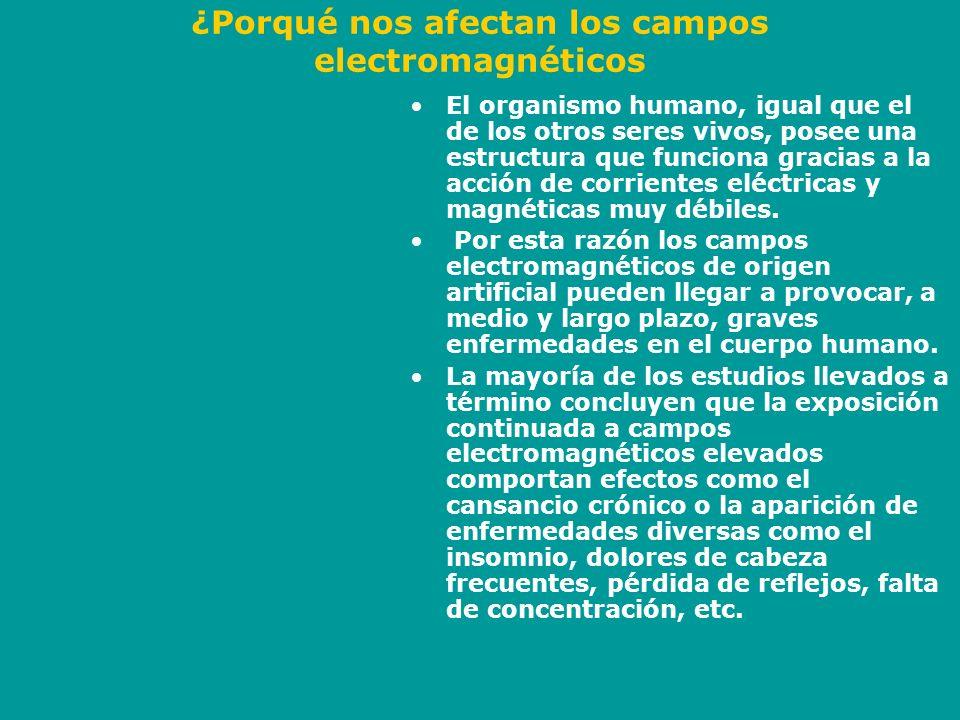 Algunos estudios efectuados El año 1992, el Instituto Karolinska de Estocolmo presentó un informe sobre el efecto de los campos electromagnéticos en las personas.