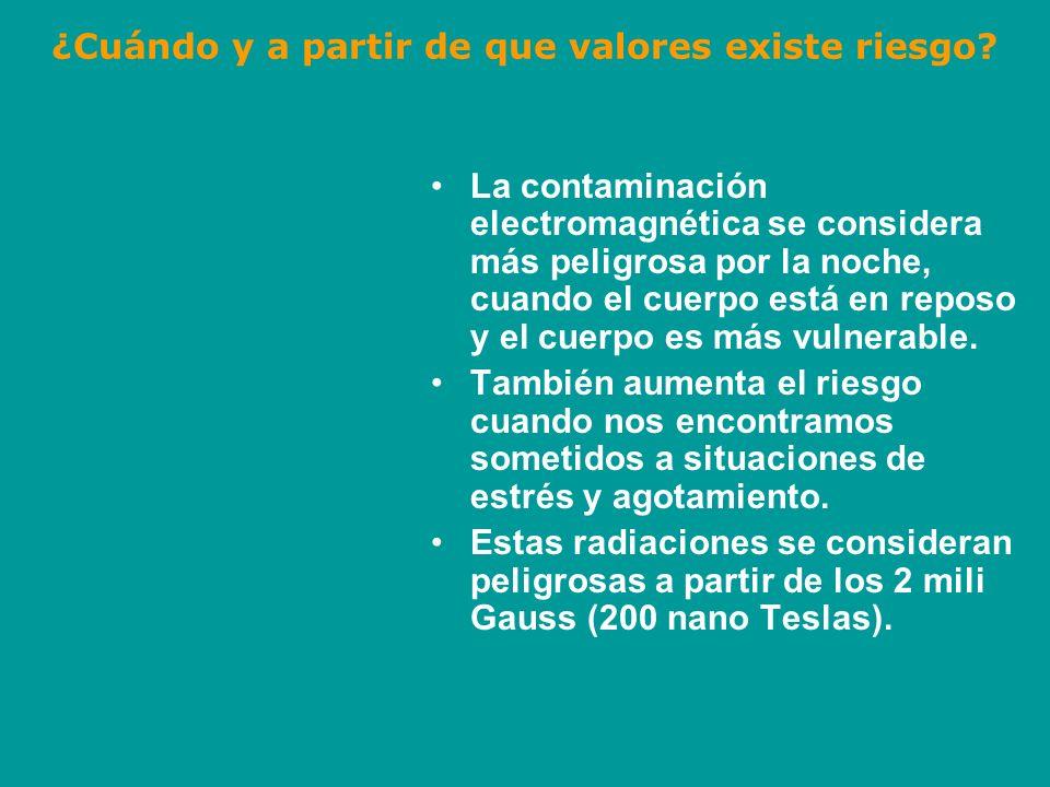 ¿Qué podemos hacer contra la contaminación electromagnética.