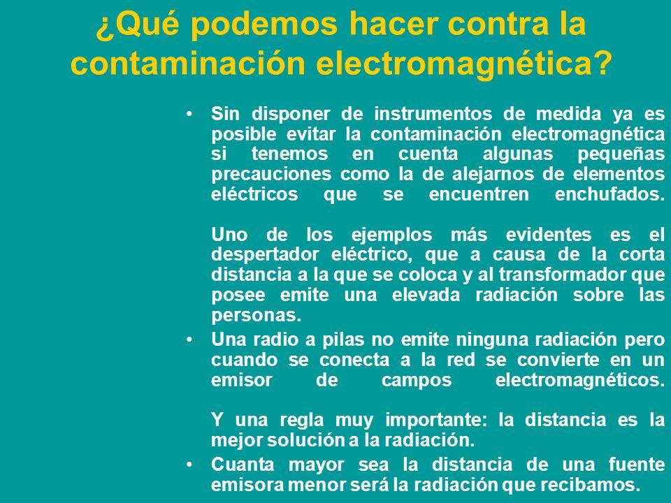 Criterios de la ICNIRP.