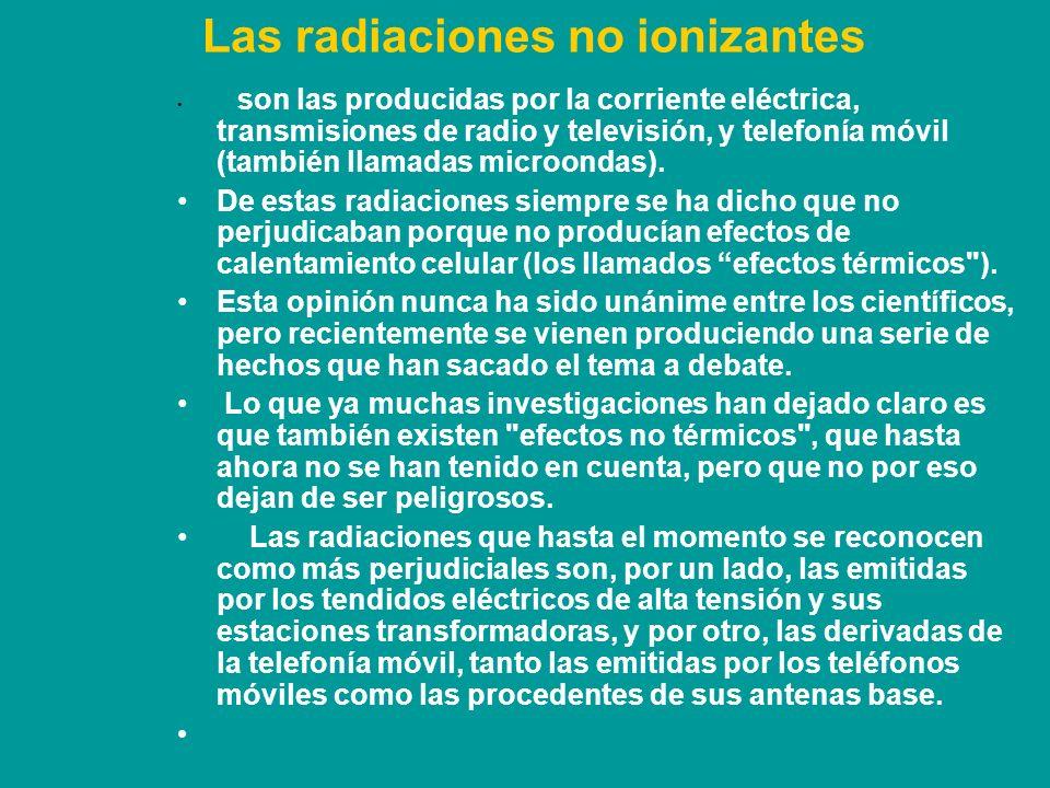 Cómo nos afectan las microondas.