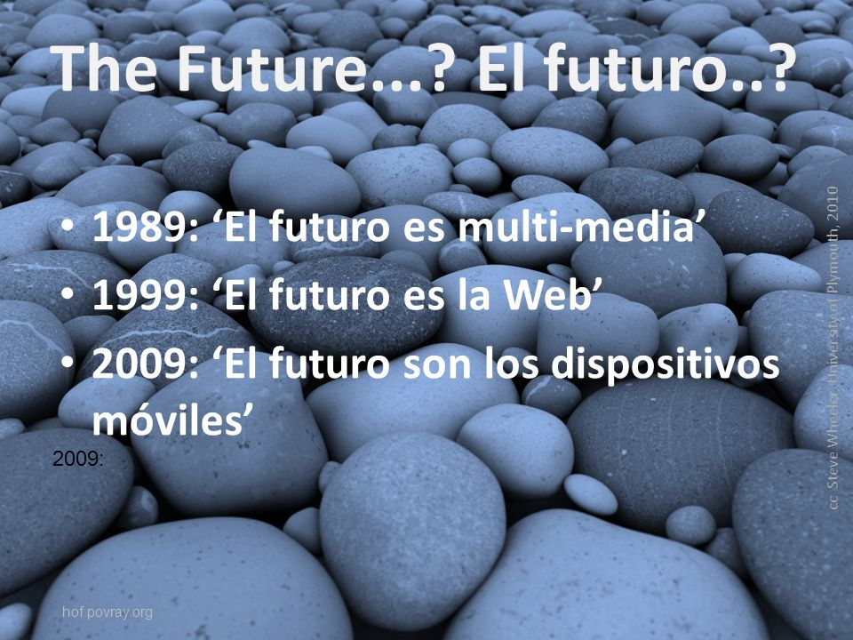 The Future.... El futuro...