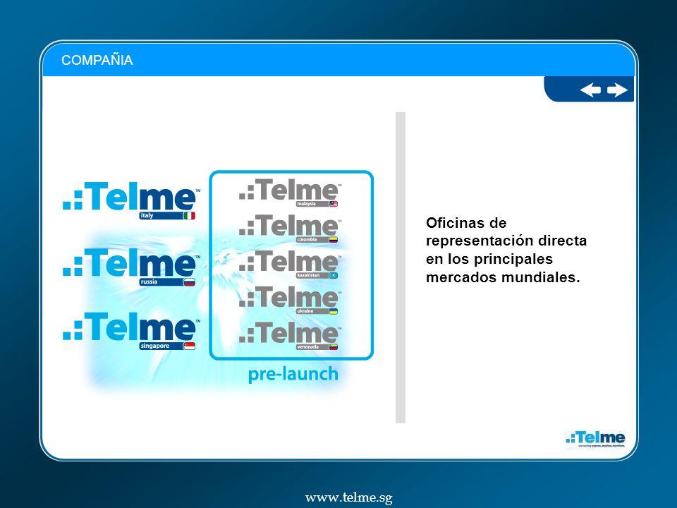 Página donde nosotros controlamos nuestra V-Sim www.telme.sg