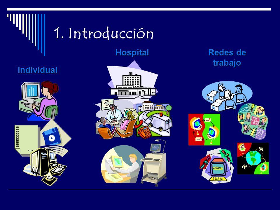 1. Introducción Individual Hospital Redes de trabajo