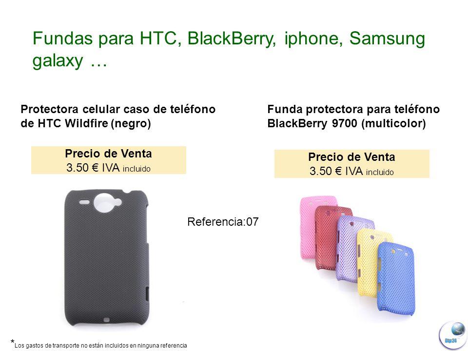 Protectora celular caso de teléfono de HTC Wildfire (negro) Funda protectora para teléfono BlackBerry 9700 (multicolor) Fundas para HTC, BlackBerry, iphone, Samsung galaxy … Precio de Venta 3.50 IVA incluido Precio de Venta 3.50 IVA incluido Referencia:07 * Los gastos de transporte no están incluidos en ninguna referencia