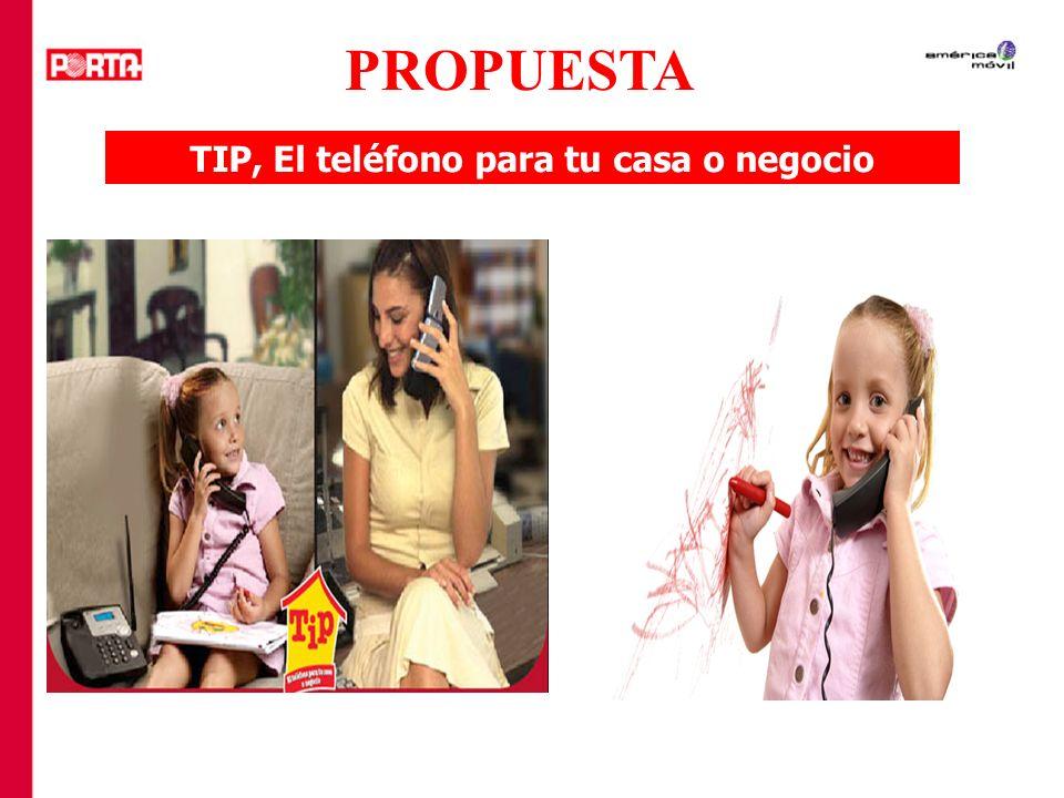 TIP, El teléfono para tu casa o negocio PROPUESTA