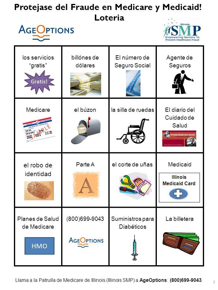 Parte DLa tarjeta para un caso de Emergencia Es necesario por razones médicas el teléfono Las formas La Patrulla de Medicare (SMP) La billetera www.