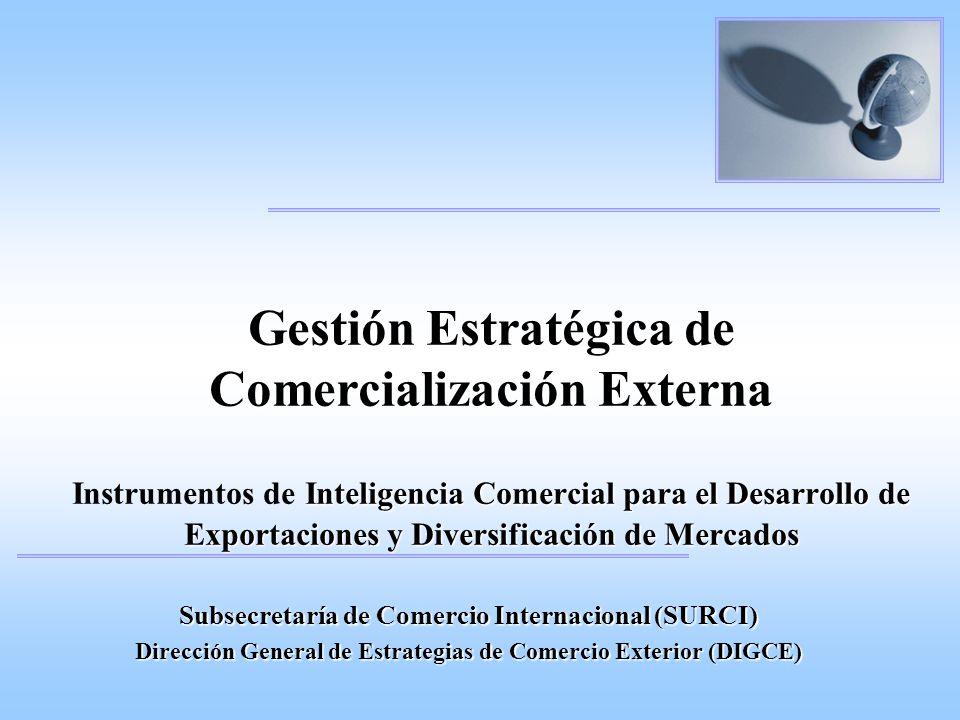 Contenidos del Portal: Directorio exportadores / importadores Oportunidades comerciales Licitaciones Internacionales Informes de Mercado (perfil/estudio) Instrumentos de Inteligencia Comercial (Infocopo / Infocopa) Eventos de negocios en general Programa Integrado de Promoción Comercial, Inversiones y Desarrollo de Mercados Externos
