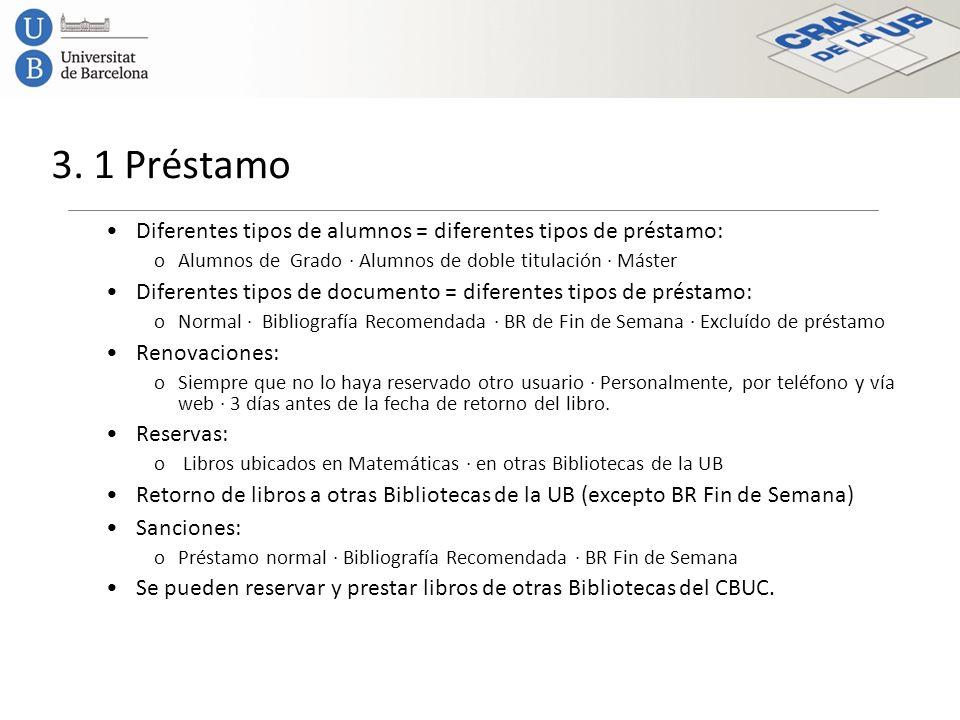 3. 2 Renovaciones de préstamoRenovaciones de préstamo