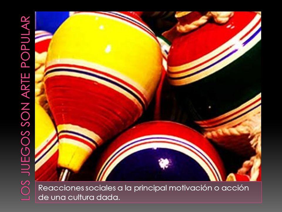 Reacciones sociales a la principal motivación o acción de una cultura dada.