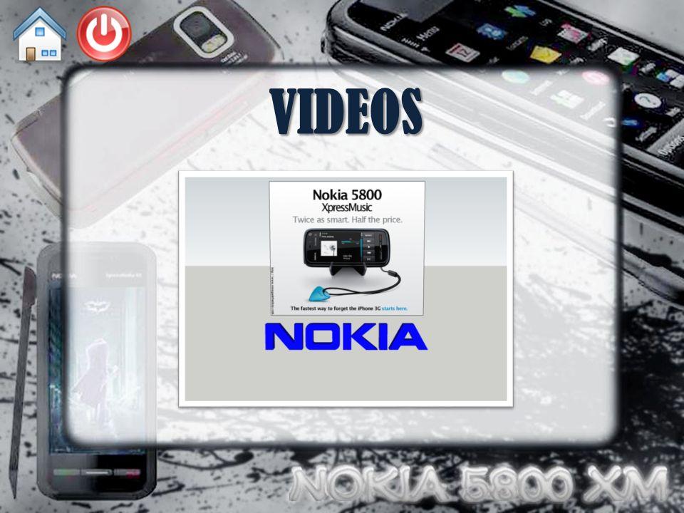 ENLACE WEB 5800 XM en Nokia España Nokia 5800 XM en Wikipedia La posibilidad de reciclar el móvil Nokia 5800 en Xataka Museo virtual de las Telecomunicaciones Noticia sobre la presentación de Nokia 5800 XM Nokia 5800 XM en Hard Zone