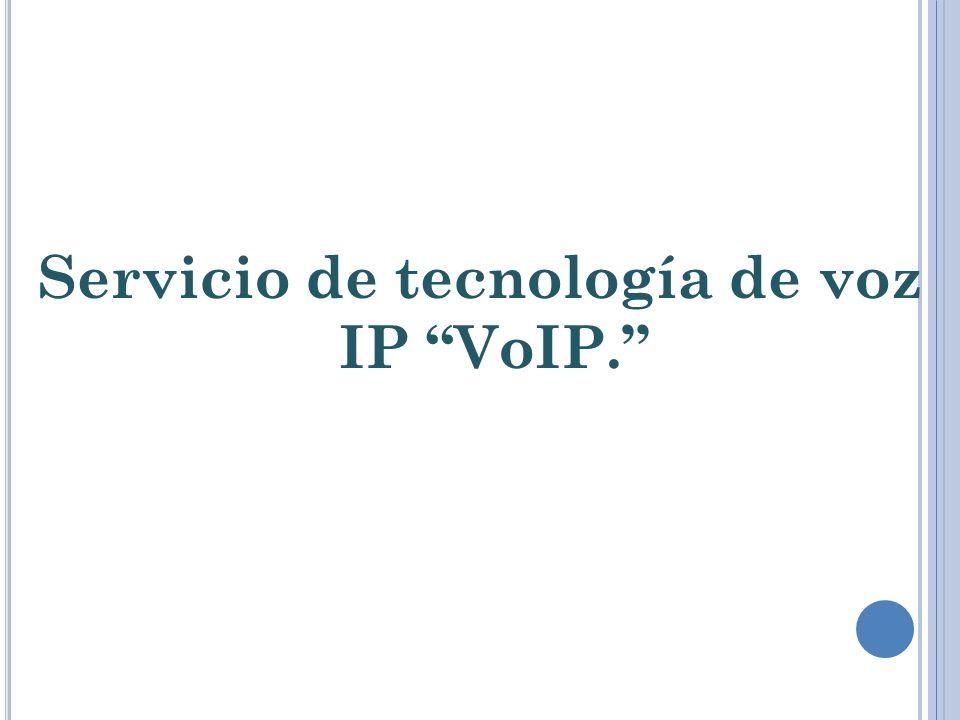 Voz sobre Protocolo de Internet, también llamado Voz sobre IP, Voz IP, VozIP, VoIP (por sus siglas en inglés, Voice over IP), es un grupo de recursos que hacen posible que la señal de voz viaje a través de Internet empleando un protocolo IP (Protocolo de Internet).
