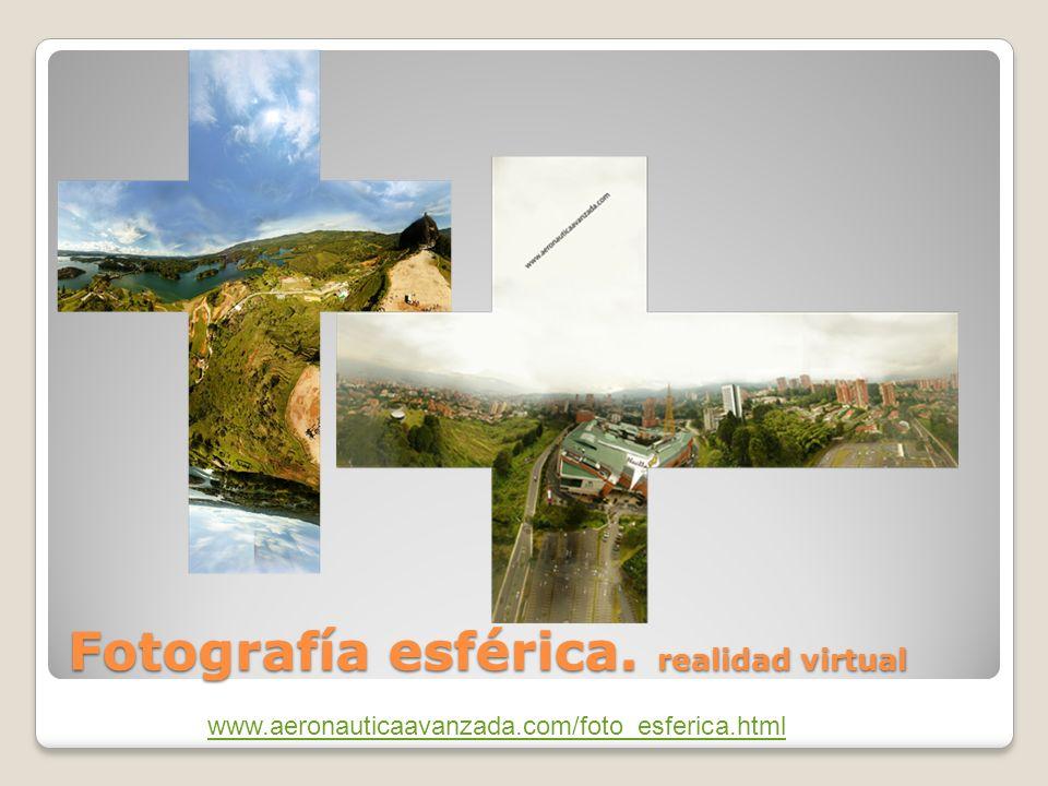 Fotografía esférica. realidad virtual www.aeronauticaavanzada.com/foto_esferica.html