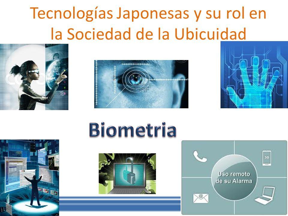 Tecnologías Japonesas y su rol en la Sociedad de la Ubicuidad