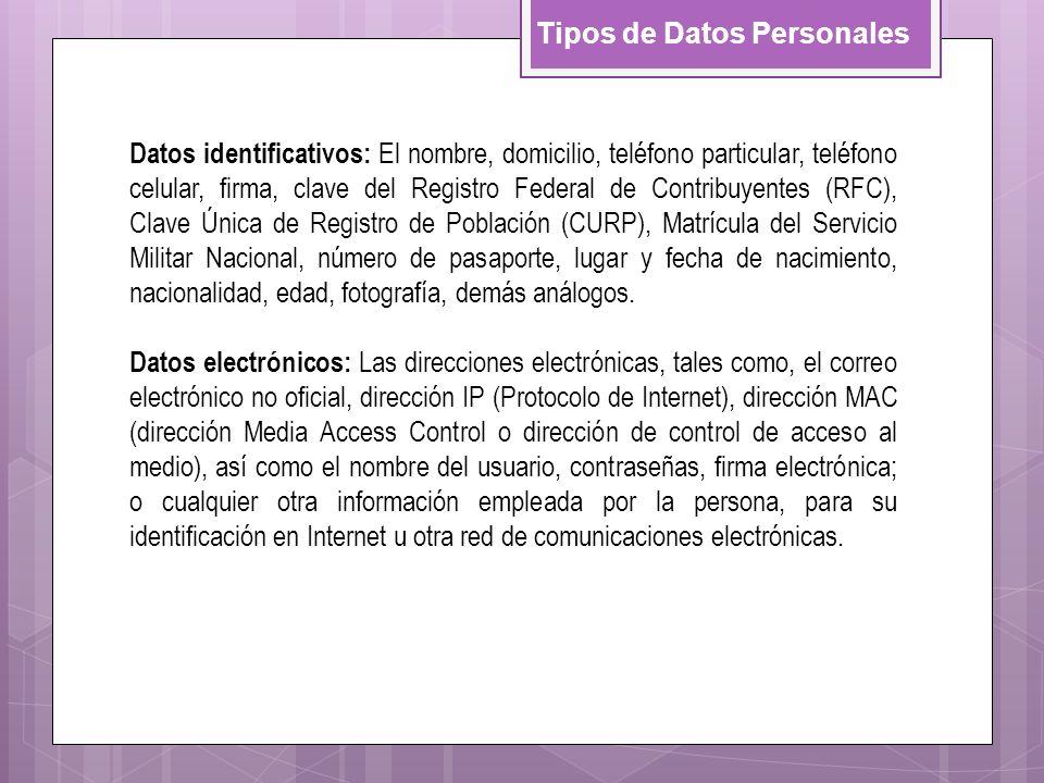 Datos identificativos: El nombre, domicilio, teléfono particular, teléfono celular, firma, clave del Registro Federal de Contribuyentes (RFC), Clave Ú