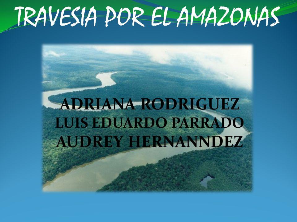TRAVESIA POR EL AMAZONAS Es un territorio con una variada vegetación y fauna silvestre y constituye una de las pocas reservas naturales de la humanidad.