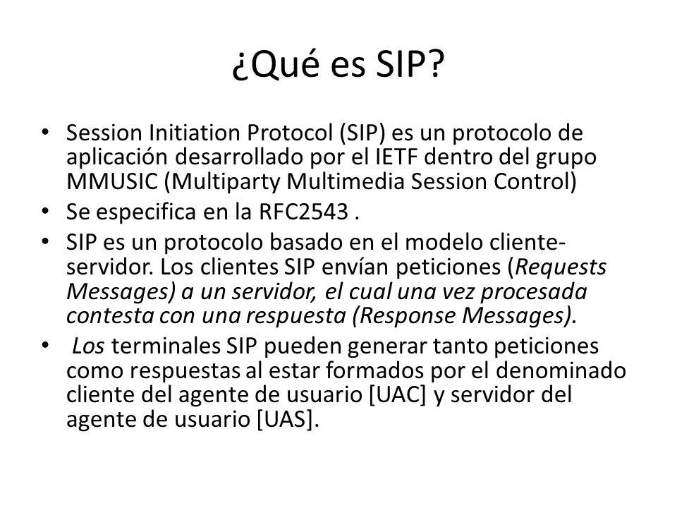 ¿Qué es SIP.