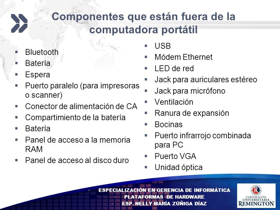 Add your company slogan LOGO Componentes que están fuera de la computadora portátil Bluetooth Batería Espera Puerto paralelo (para impresoras o scanne