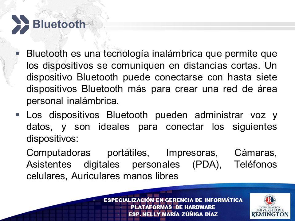 Add your company slogan LOGO Bluetooth Bluetooth es una tecnología inalámbrica que permite que los dispositivos se comuniquen en distancias cortas. Un