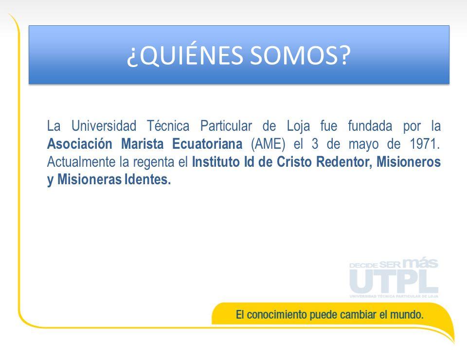 La inscripción (prematrícula) y matrícula se realiza en los centros universitarios de la UTPL..