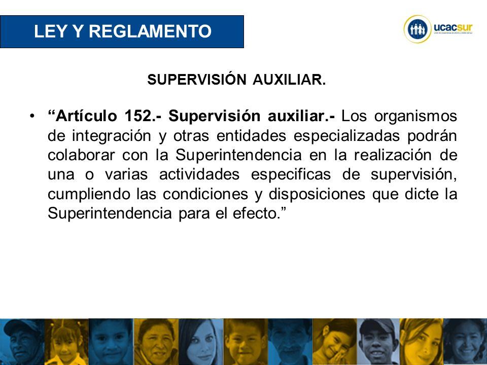 UCACSUR Cuenca: Eugenio Espejo 8-38 y Padre Aguirre Teléfono: 593 7 2838195 WWW.UCACSUR.COOP SUPERVISIÓN AUXILIAR.