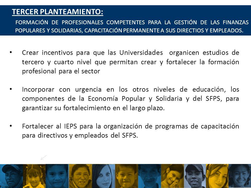UCACSUR Cuenca: Eugenio Espejo 8-38 y Padre Aguirre Teléfono: 593 7 2838195 WWW.UCACSUR.COOP PLANTEAMIENTO DEL COMITÉ 43 TERCER PLANTEAMIENTO: FORMACIÓN DE PROFESIONALES COMPETENTES PARA LA GESTIÓN DE LAS FINANZAS POPULARES Y SOLIDARIAS, CAPACITACIÓN PERMANENTE A SUS DIRECTIOS Y EMPLEADOS.