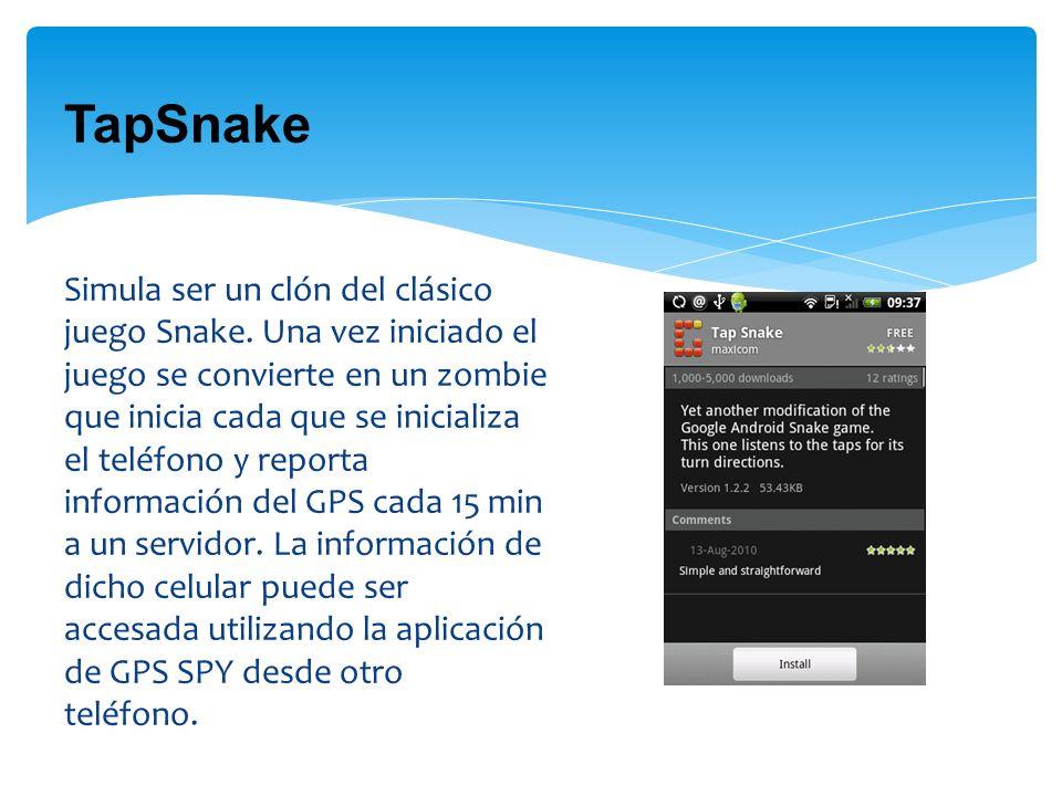 TapSnake Simula ser un clón del clásico juego Snake.