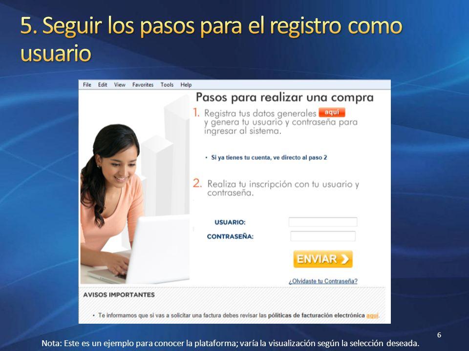 Confirmación de pago.Correo electrónico con datos de acceso al curso.