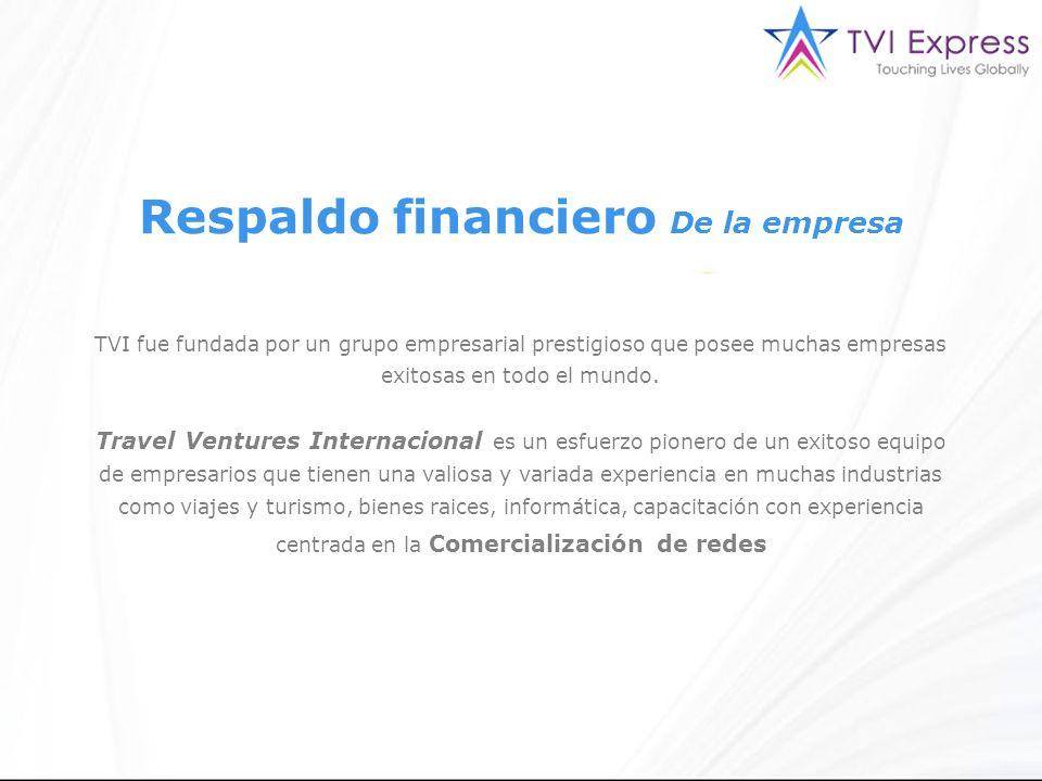 TVI fue fundada por un grupo empresarial prestigioso que posee muchas empresas exitosas en todo el mundo.