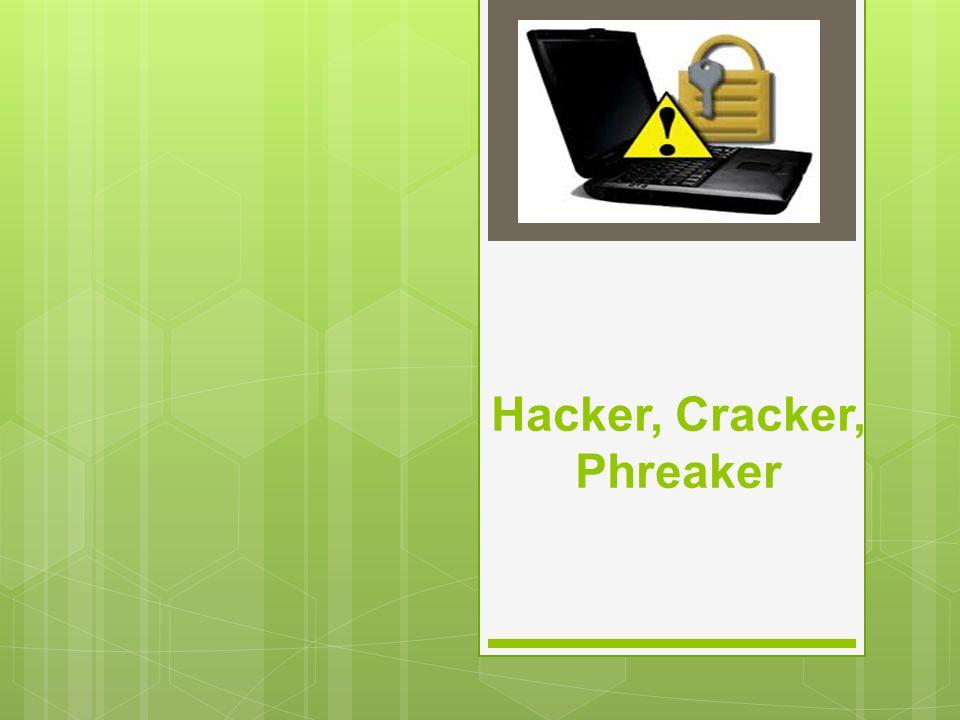 Hacker Es un Neologismo que se utiliza para referirse a un experto en tecnologías de la información y las telecomunicaciones: programación, redes de computadoras, sistemas operativos, hardware, software, etc.