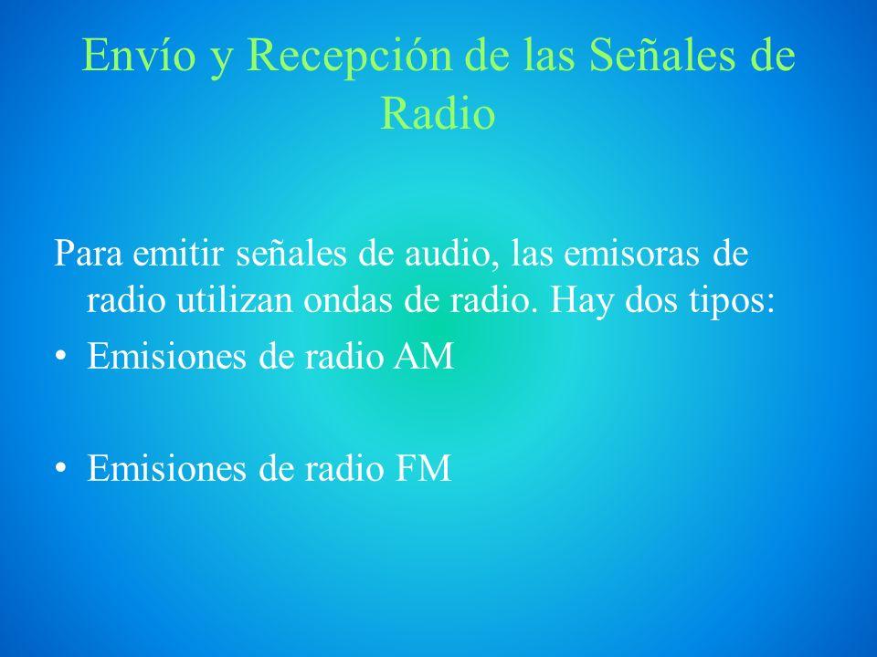 AM y FM Modulación de amplitud (AM): Se modifica la amplitud de la señal portadora.