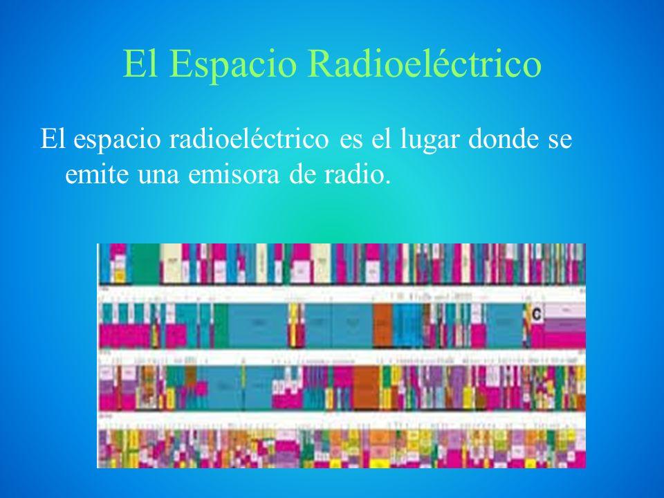 Envío y Recepción de las Señales de Radio Para emitir señales de audio, las emisoras de radio utilizan ondas de radio.